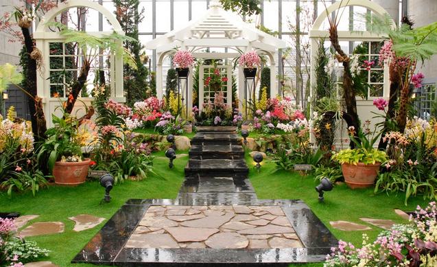 淡路夢舞台温室奇跡の星の植物園 画像