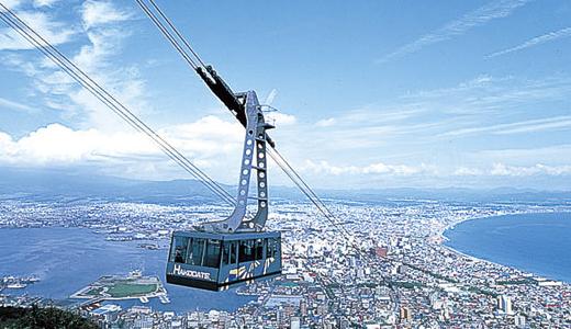 函館山ロープウェイ 画像