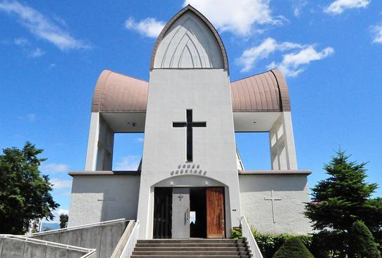 函館聖ヨハネ教会 画像