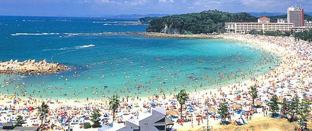 白良浜 画像
