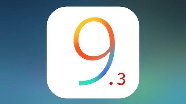 IOS9.3 不具合 画像