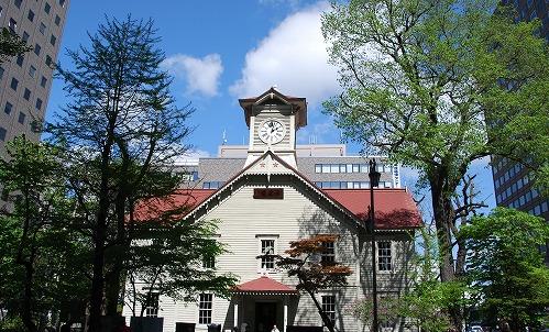 札幌市時計台 画像