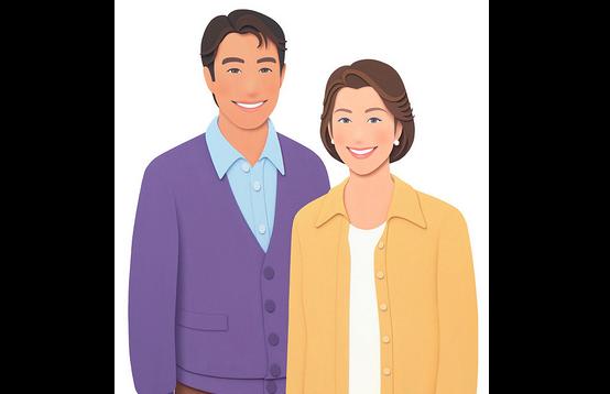 有名人夫婦 画像