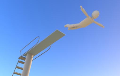 飛び込み 画像