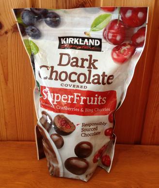 ダークチョコレート スーパーフルーツ 画像