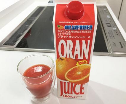 タロッコジュース ブラッドオレンジジュース 画像